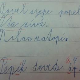 psaní, úchop tužky, grafomotorika