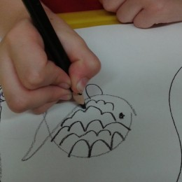 Psaní, úchop tužky, první třída, Smutná, Leinweberová