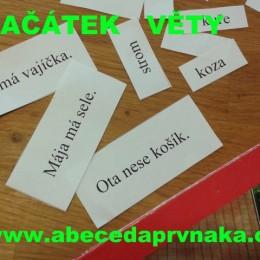 český jazyk, čtení, Smutná